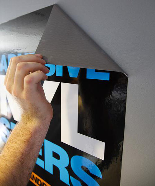 Self Adhesive Poster Melbourne Prints